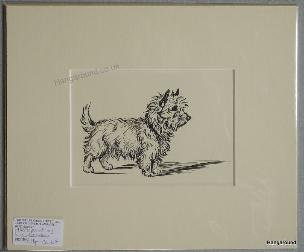 Little Cairn - Ca D7 - standing 1940's print by Lucy Dawson